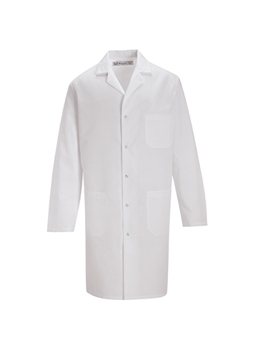 Lab Coat with Gripper Closure