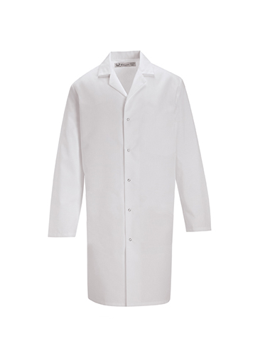 Pocketless Lab Coat